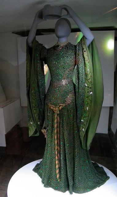 Beetle Wing Dress Worn by Ellen Terry