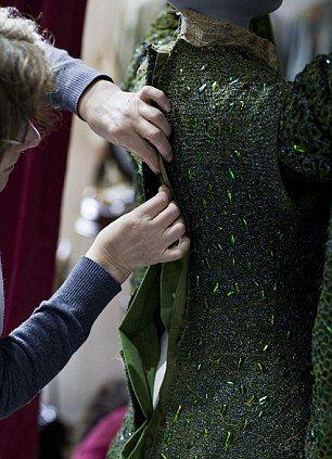 Ellen Terry Beetle Wing Gown