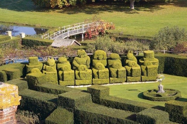 The Topiary Entry, Hever Castle, Edenbridge, UK