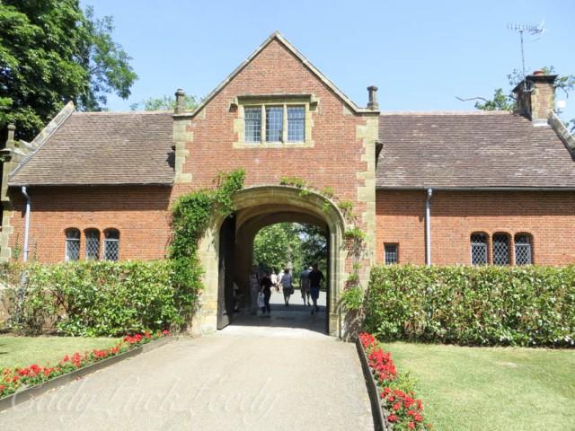 The Entry into Hever Castle, Edenbridge , UK