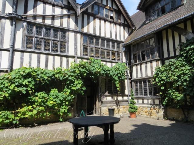 The Courtyard at Hever Castle, Edenbridge, UK