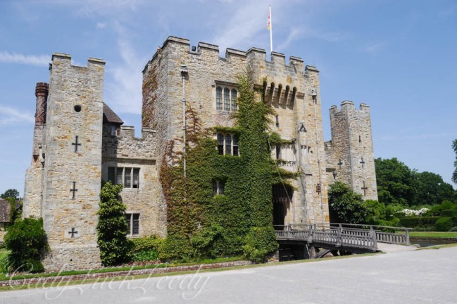 The Drawbridge into Hever Castle, Edenbridge, UK