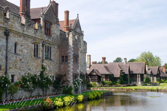 Hever Castle with Cottages at the Conference Center, Edenbridge, UK