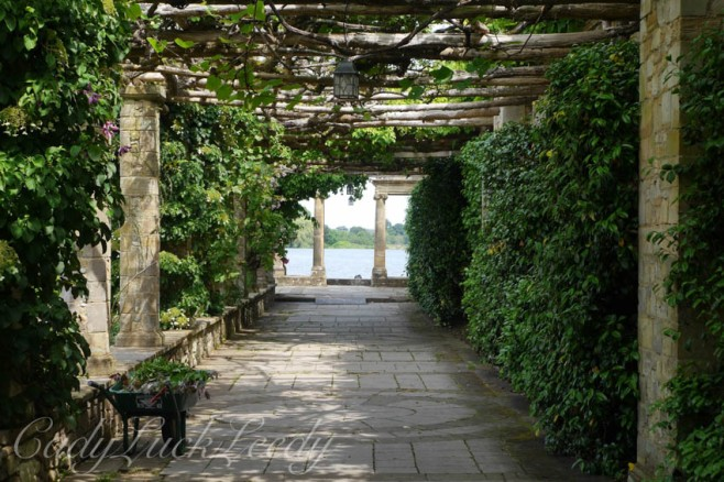 The Loggia at Hever Castle, Edenbridge, Kent, UK