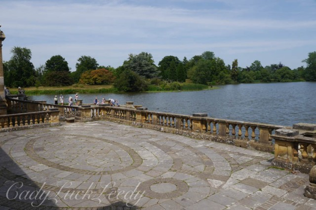 The Lake at Hever Castle, Edenbridge, Kent, UK