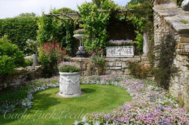 The Italian Gardens at Hever Castle, Edenbridge, Kent, UK