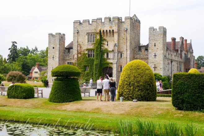 The Topiary Entry, Hever Castle, Edenbridge, UK