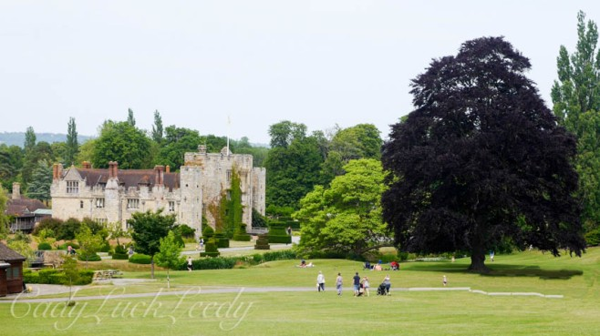 The Landscape of Hever Castle, Edenbridge, UK
