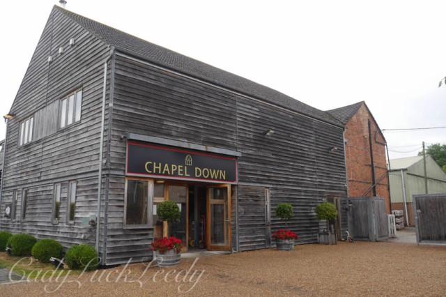 Chapel Down Winery, Tenterden Kent, UK