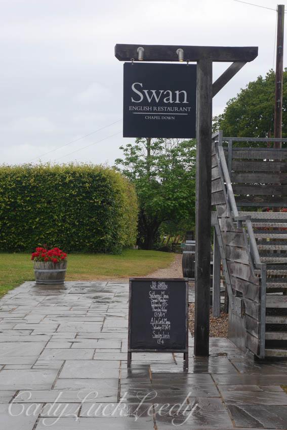 The Swan Restaurant at Chapel Down Winery, Kent, UK