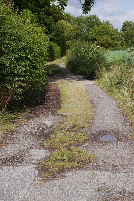 The Lane across from Smallhythe Place, Tenterden, Kent, UK