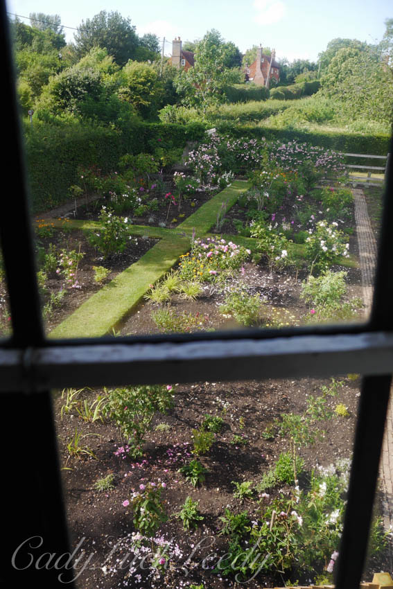 The Garden from the Window, Smallhythe Place, Kent, UK