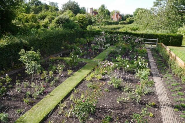The Gardens at Smallhythe Place, Tenterden, Kent, UK