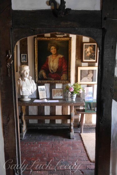 Inside Smallhythe, near Tenterden, Kent, UK