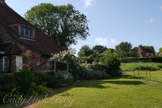 The Garden at Smallhythe Place, Tenterden, Kent, UK
