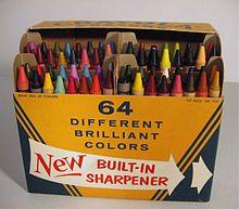 No 64 Box Crayola Crayons