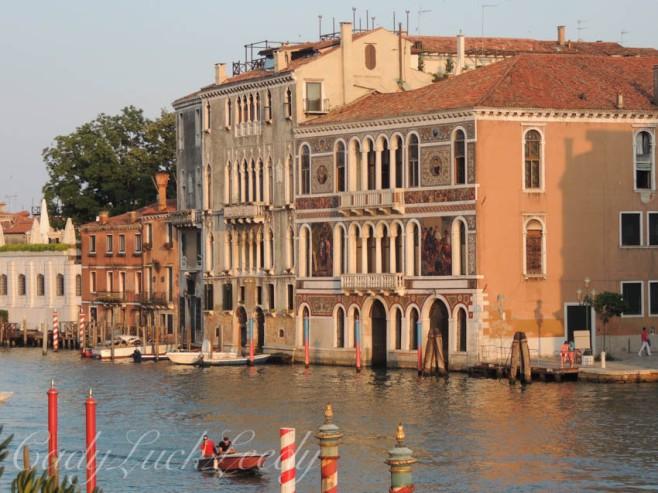 Buildings Along the Main Canal, Venice, Italy