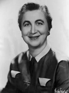 Frances Horwich 1955
