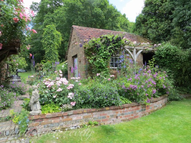 A Beautiful Garden in West Hoathly, UK