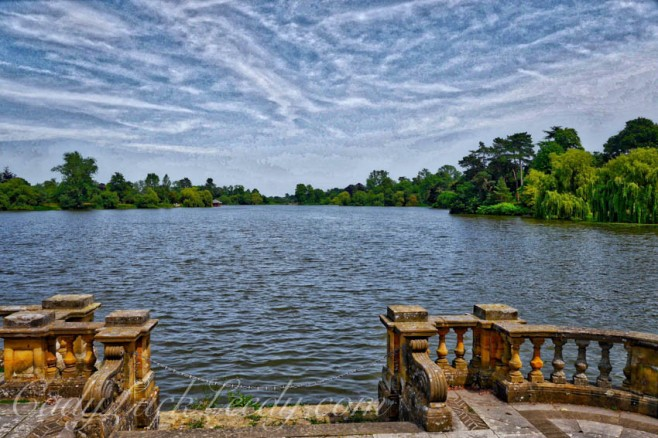 The Lake at Hever Castle, Kent, UK