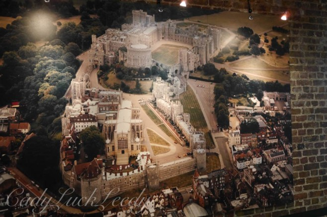 A Photo of the Photo of Windsor Castle