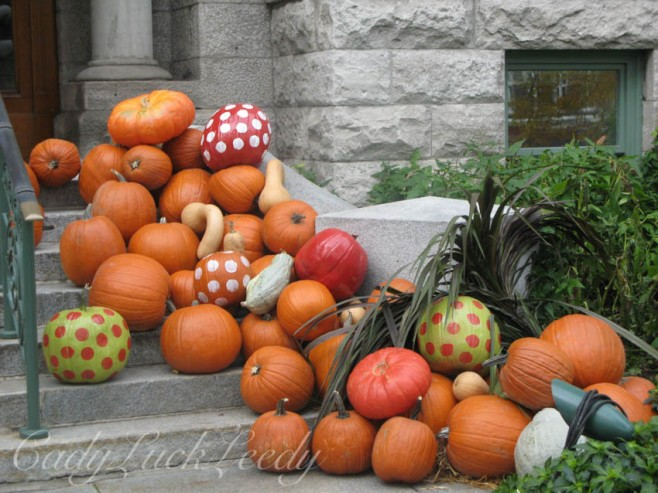 Quebec City, Canada Pumpkins