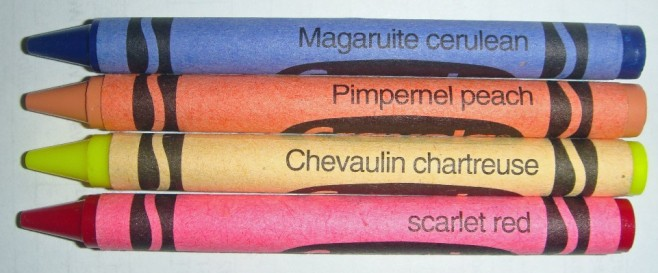Scarlet Pimpernel Crayola Crayons