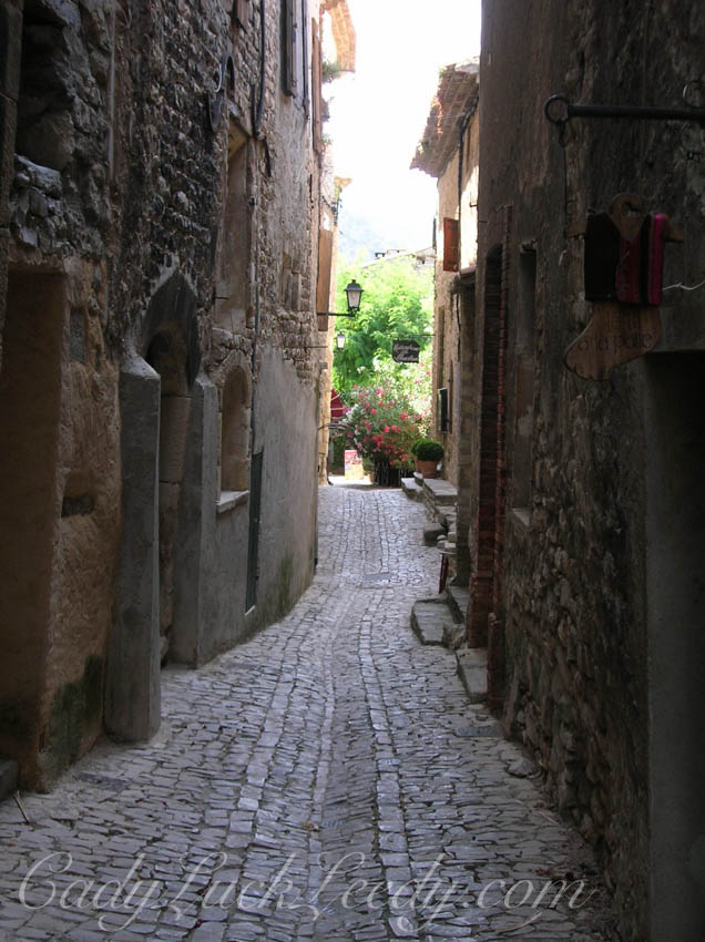 The Hilltown Village of Seguret, Provence