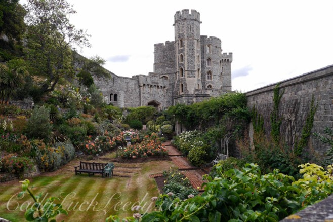 The Garden Moat at Windsor Castle
