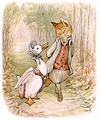 Beatrix Potter; The Tale of Jemima Puddle-duck