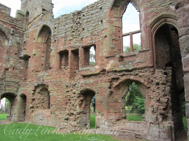 Acton Burnell Castle, Acton Burnell, Shropeshire, UK