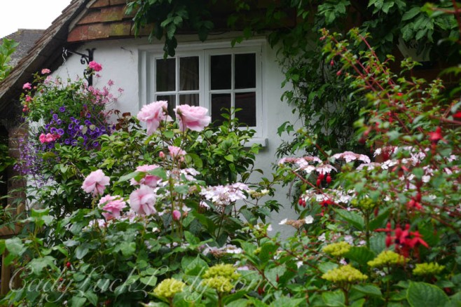 A Cottage Garden in Warninglid, UK