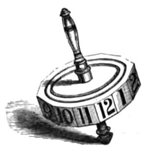 Teetotum, 1881