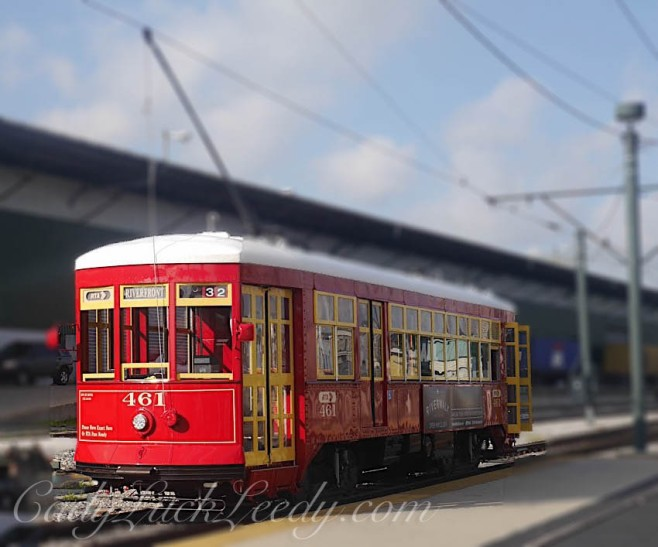 Red Trolley of New Orleans