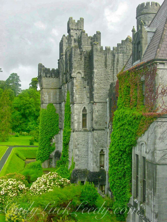 View from Ashford Castle, Cong, Ireland