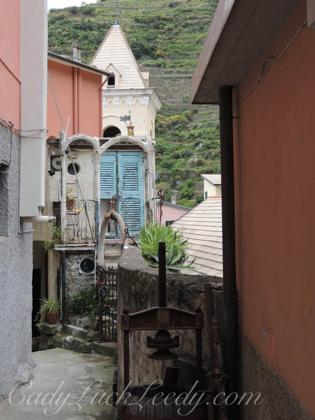 The View of All that Quirkiness, Manarola, Cinque Terre, Italy