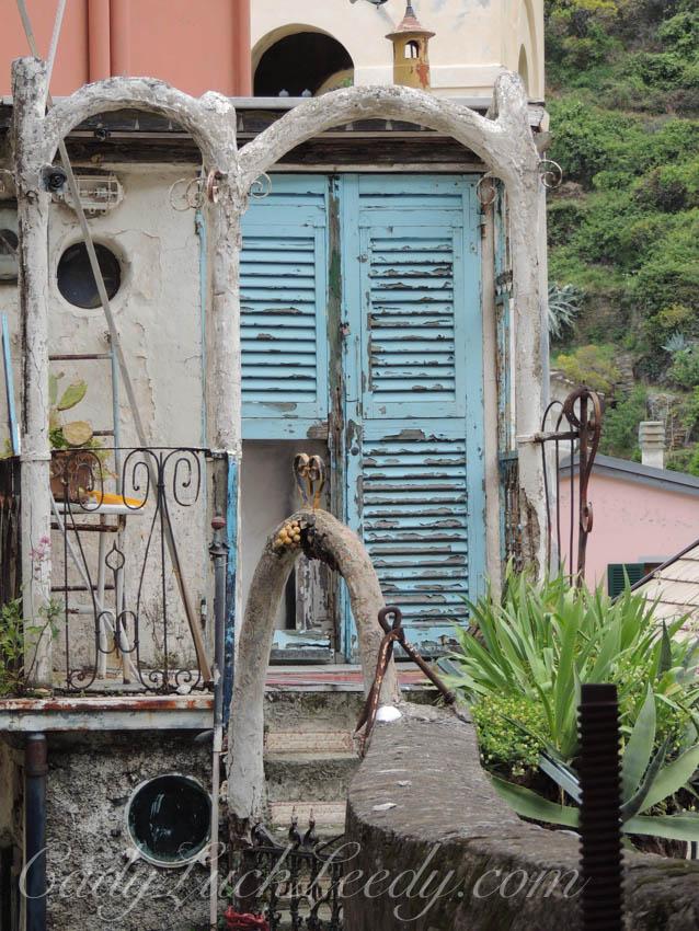 My Favorite Door in Manarola, Cinque Terre, italy