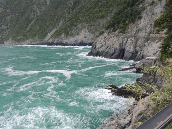 Ligurian Sea off Coast of Cinque Terre, Italy
