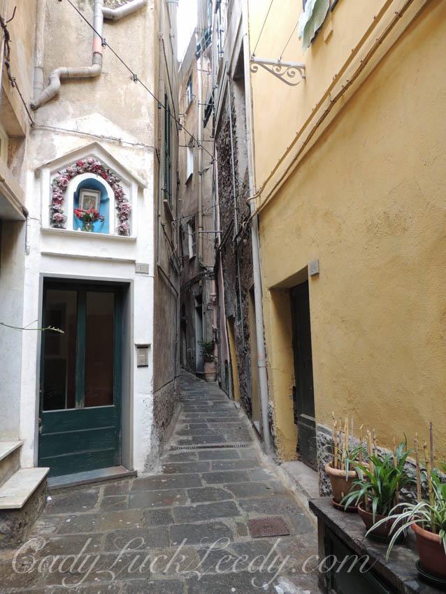 A Stroll Along Narrow Walkways Through the Village