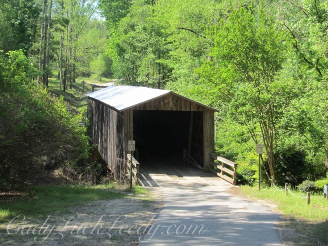 Covered Bridge near Madison, Georgia