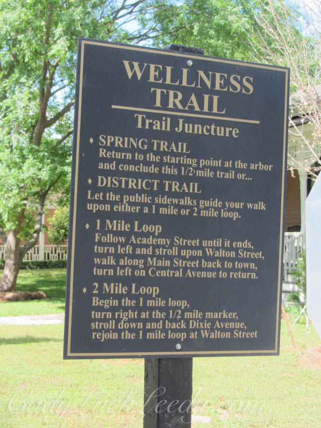 Wellness Trail, Madison, Georgia