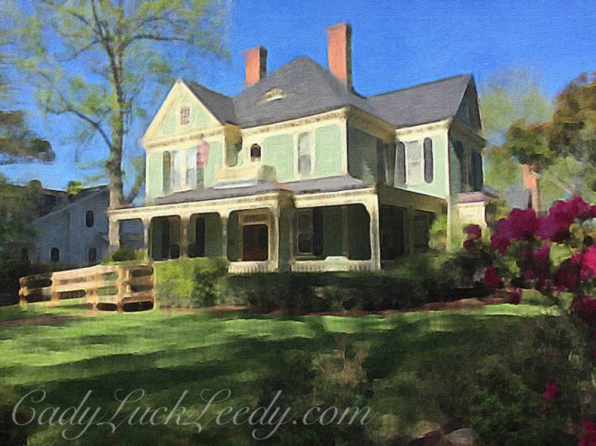 Vinson House Painted in Brushstroke App