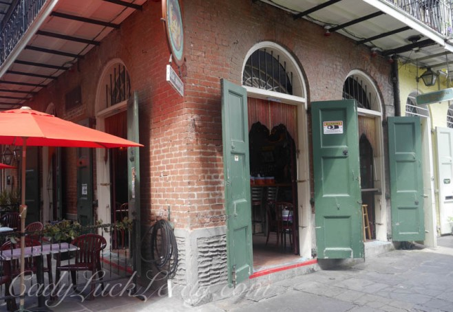 The New Orleans Style Business Door