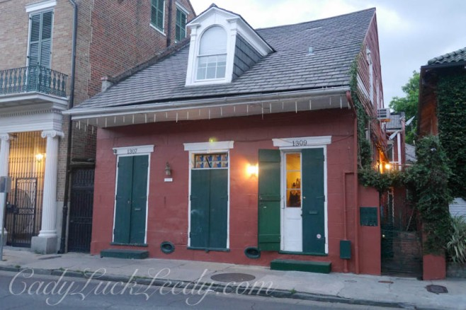 Double Shotgun House with Icicle Trim, New Orleans, Louisiana