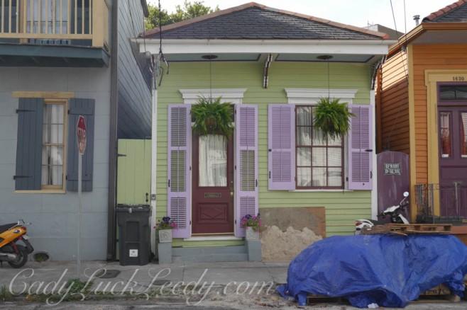 Shot Gun House, New Orleans, Louisiana