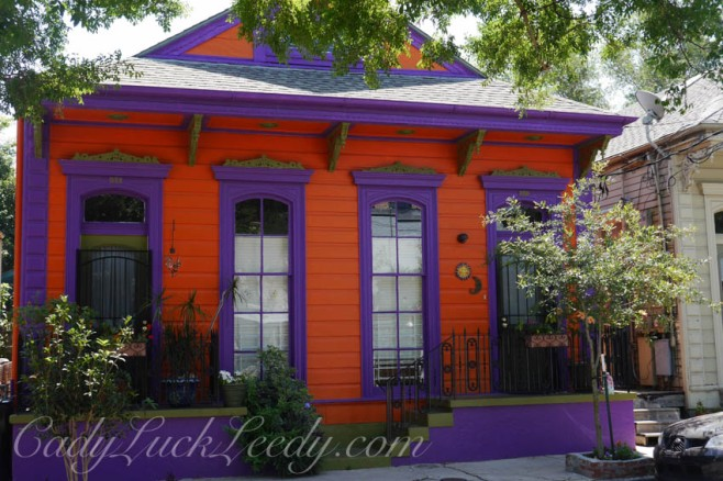 Purple and Orange House, New Orleans, Louisiana