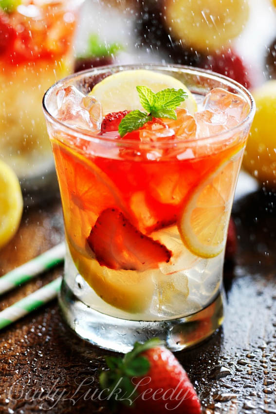 Strawberry Lemonade Vodka