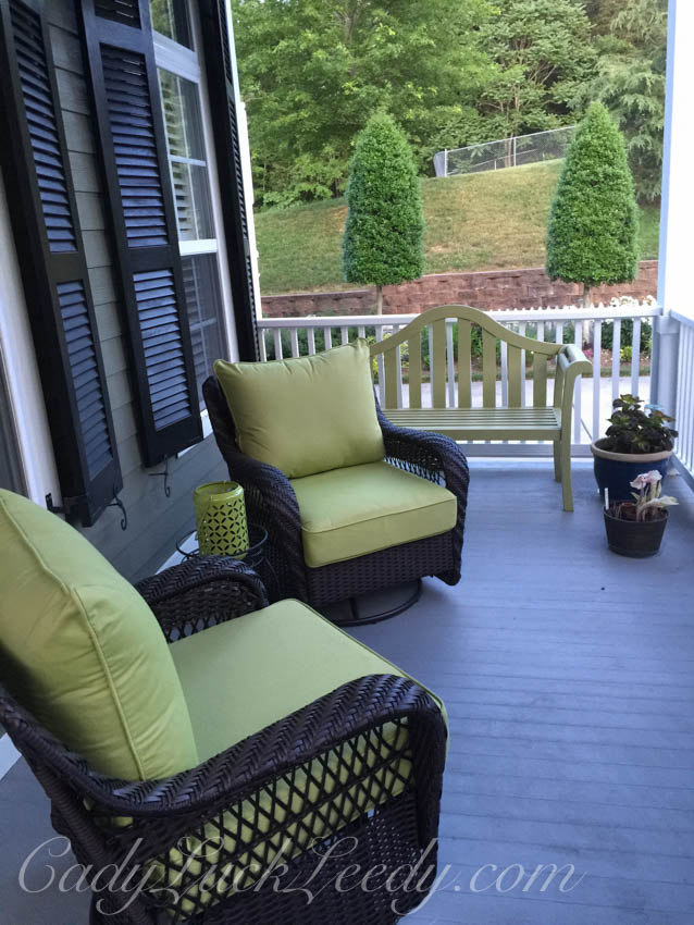 The New Black Wicker Porch