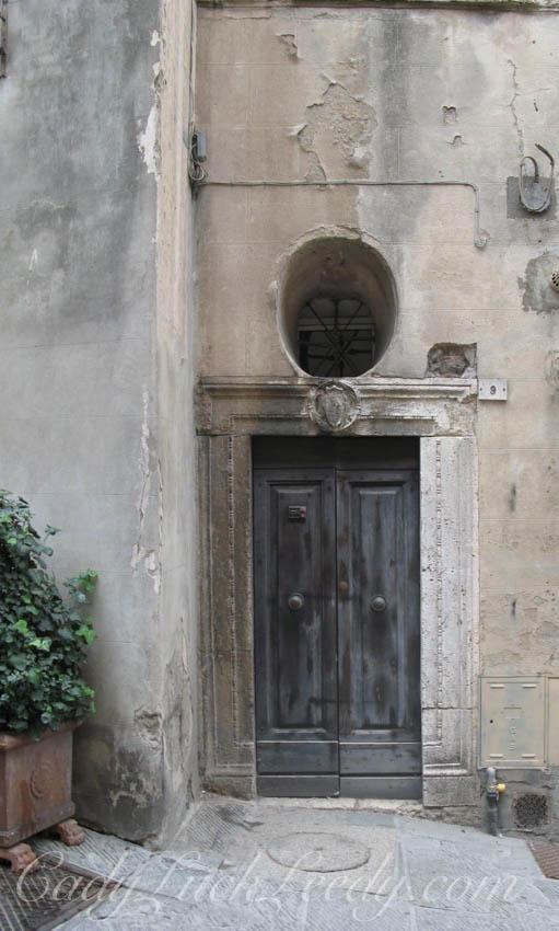 A Medici Door, Florence, Italy