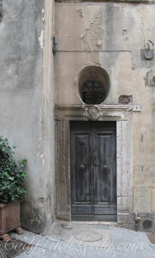 A Medici Door, Florence, Italy